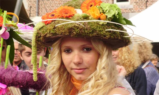 Алден Бизен цветочная выставка