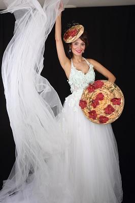 эксклюзивный дизайн свадебного платья