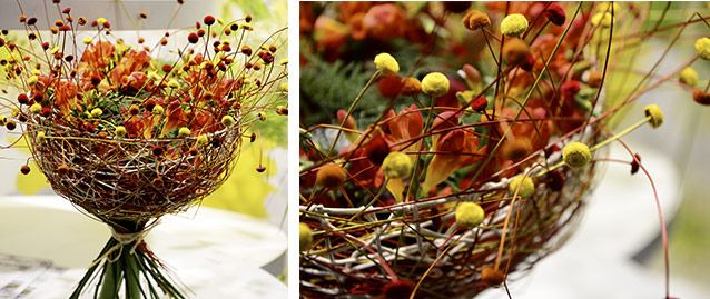 Картинки оригинальные осенние букеты цветов