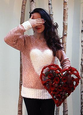Букет к дню святого Валентина