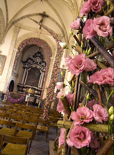 Цветочный праздник в замке Альден Бизен