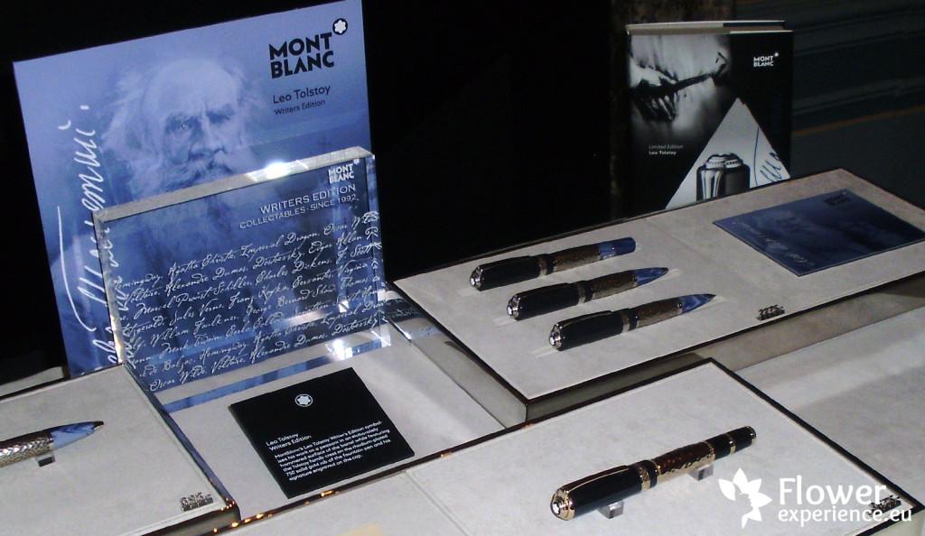 Montblanc история коллекции Lev Tolstoy