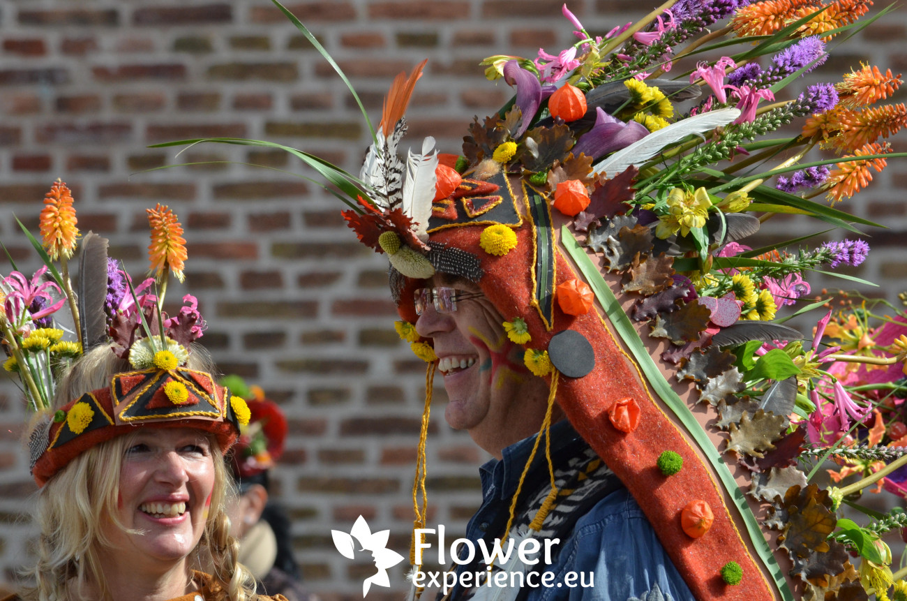 Цветочные шляпы