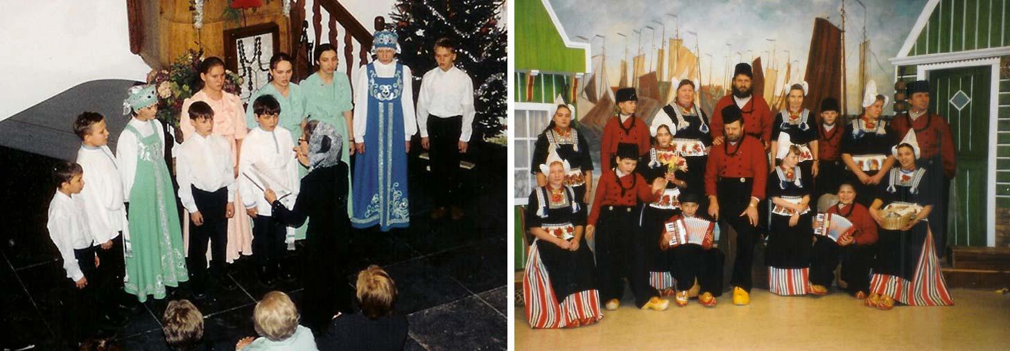Хор и православные рождественские песни