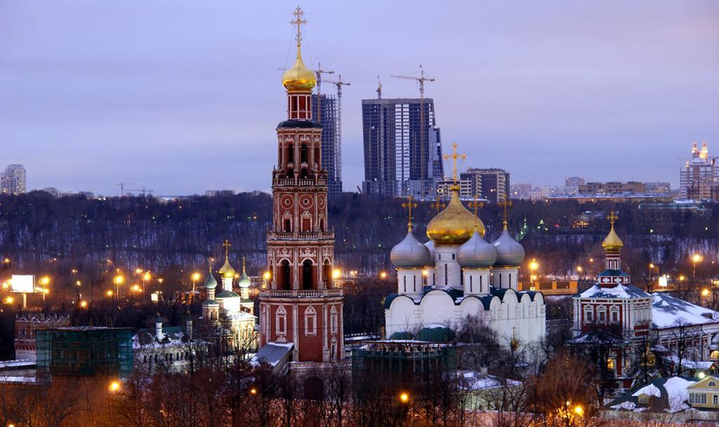 современный облик Новодевичьего