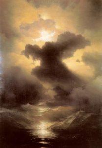 Иван Айвазовский. Хаос. Сотворение мира. 1841 год.