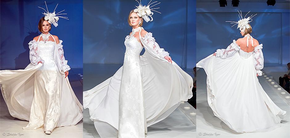 Прекрасное платье из Дома моды Вячеслава Зайцева