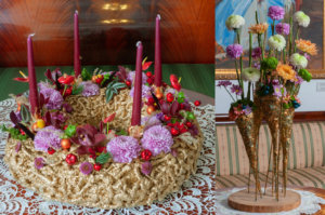голландские новогодние хризантемы