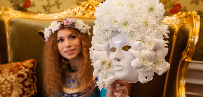 хризантемые маски