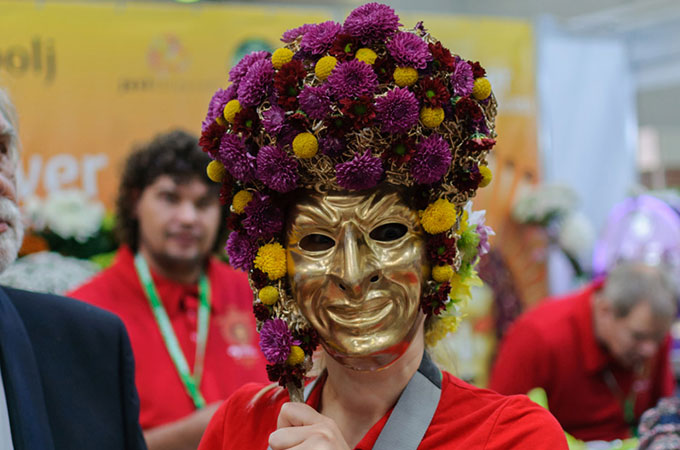 цветочные маски